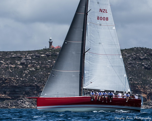 Rikki Racing in the Club Marine Pittwater to Paradise Race