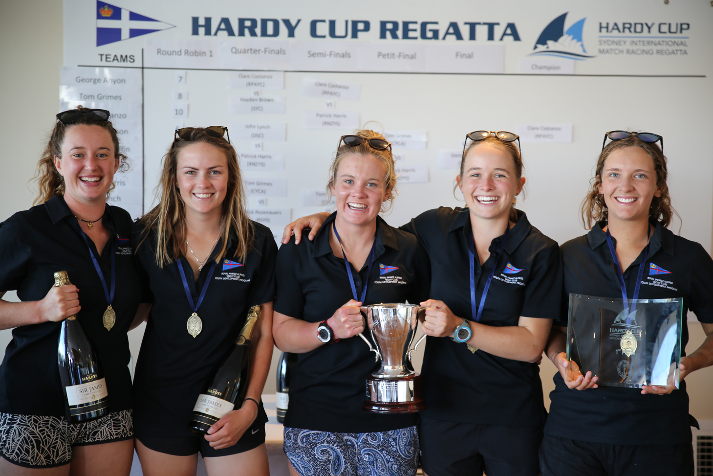 Hardy Cup winners Credit Darcie C Photography